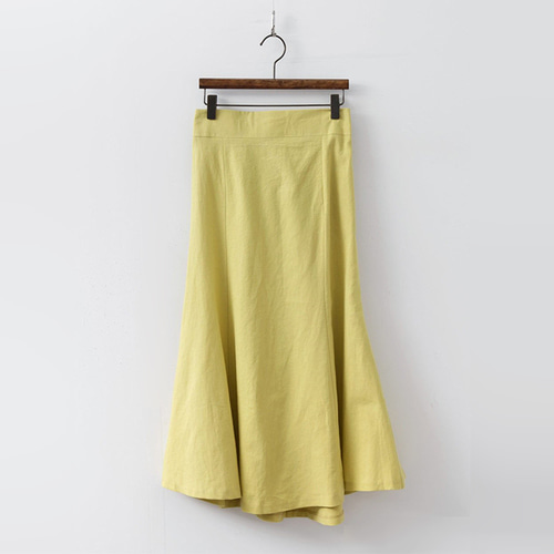 Linen Mermaid Long Skirt