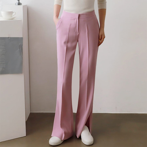 Make Slit Flare Pants