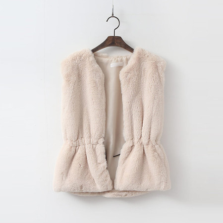 Pretty Echo-Fur Vest
