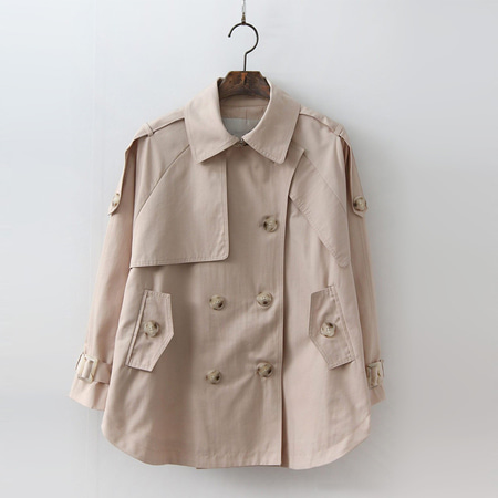 Trench Cape Jacket