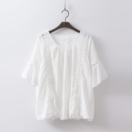 Cotton Circle Blouse
