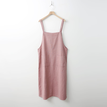 Cotton Overall Long Dress