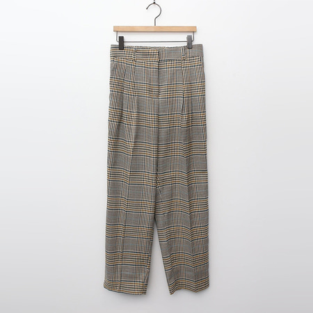 Olson Plaid Baggy Pants
