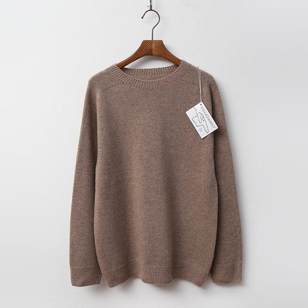 Hoega Cashmere N Wool Round Sweater