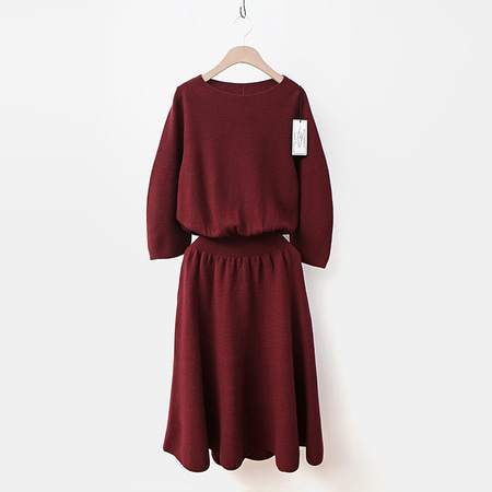 Laine Wool Fit N Flare Dress