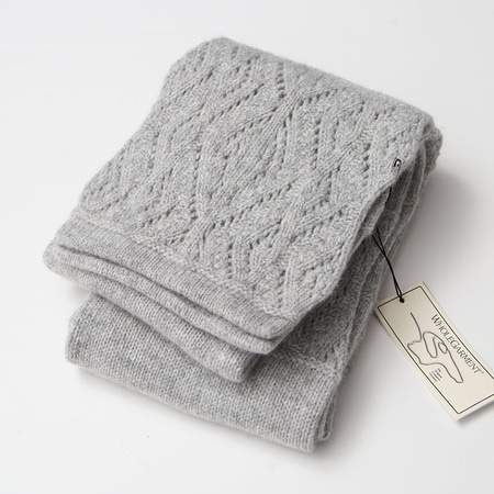 Laine Cashmere Wool Cozy Muffler