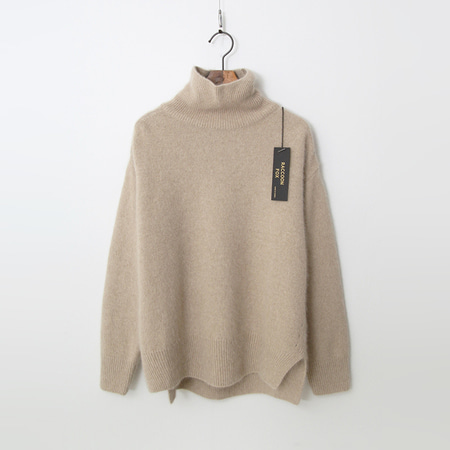 Raccoon Fox N Wool Turtleneck Sweater