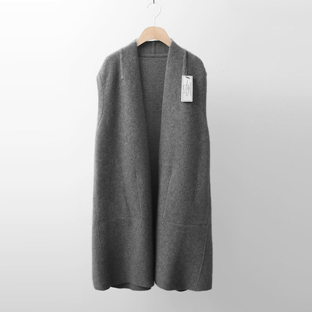 Laine Raccoon Wool Reversible Vest