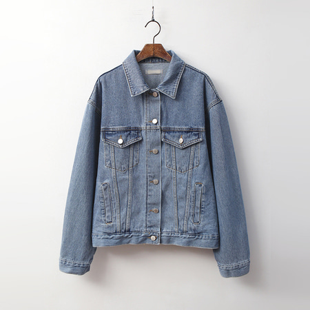 Rider Loose Denim Jacket