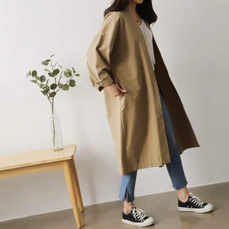 Everyday Oversized Long Jacket
