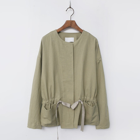 Linen Cotton Bio Jacket