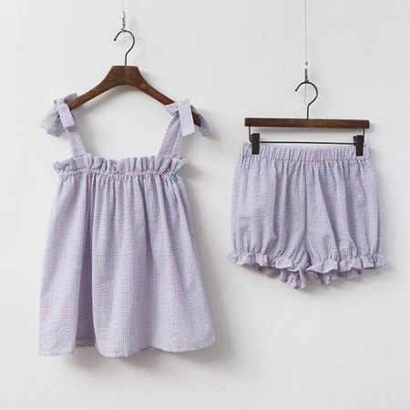 Pretty Frill Pajama Set