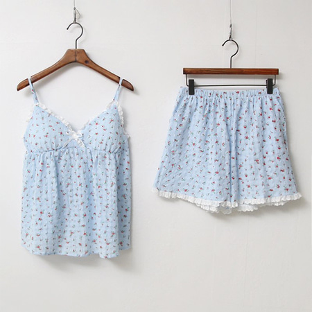 Flower Cami Pajama Set