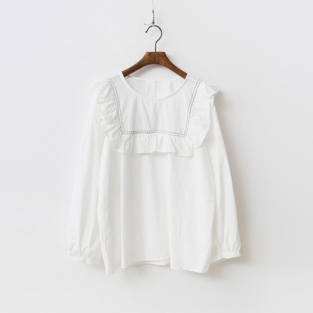 The Frill Blouse