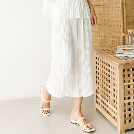 Pleats Nana Wide Pants - 7부