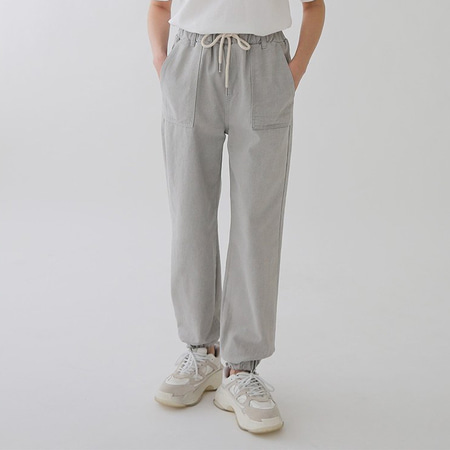 Grey Jogger Jeans