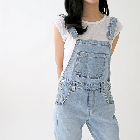 Light Denim Awesome Overalls
